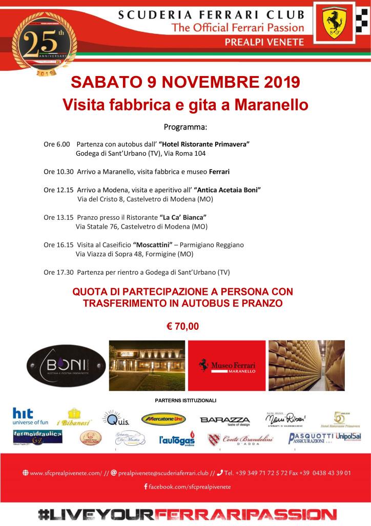 2019 - Visita in fabbrica 9 nov