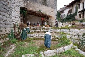Mezzomonte presepio Giacinto 2009